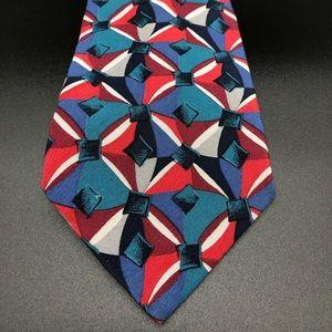Pierre Cardin 100% Silk Men's Geometric Tie